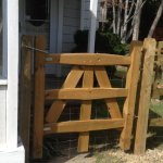 Split Rail Gate single swing