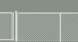 4' Galvanized Chain Link