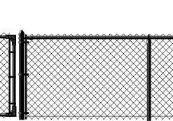 4_Black Chain Link Fence