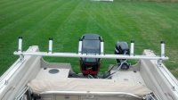 Pursuit trolling bar and rod holders. | Ohio Game Fishing ...