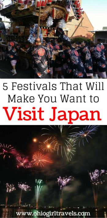 Festivals that will make you want to visit Japan