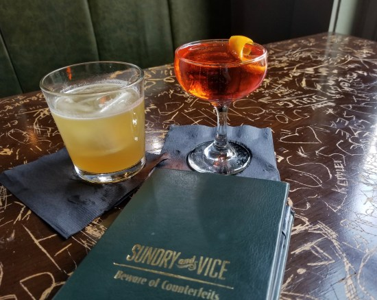 Sundry and Vice, Cincinnati, Ohio