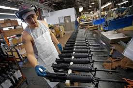 Gun manufacturers' stock take down turn after election