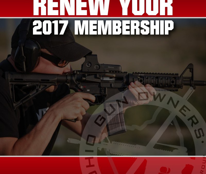 Renew Your Support for the 2nd Amendment in 2017!