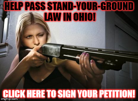 Stand Your Ground Law in Ohio?