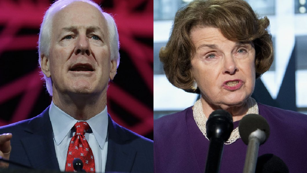 Feinstein/Cornyn Gun-Control Bill Introduced!