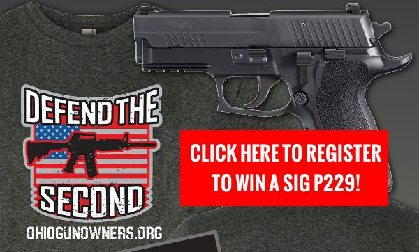 Win a Sig P229 from Ohio Gun Owners!