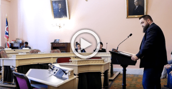 VIDEO: We testified for OGO members and supporters today!