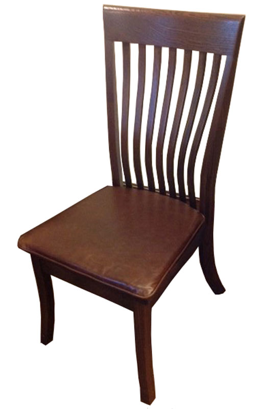 leather chair pads bed bath and beyond wing back covers upholstered ohio hardwood furniture christy with pad