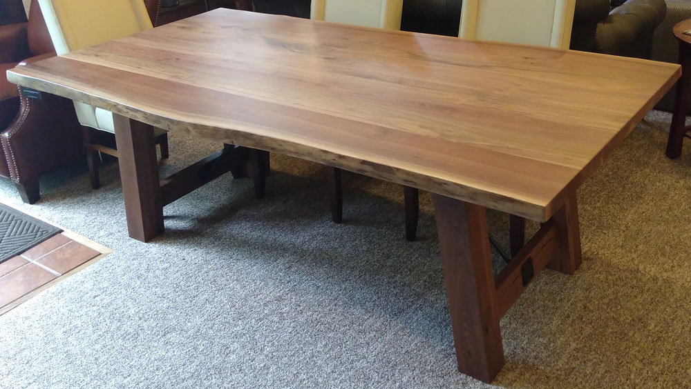 live edge tables ohio hardwood furniture