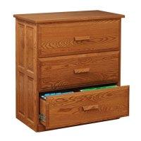 3 Drawer Lateral File Cabinet - Ohio Hardwood Furniture