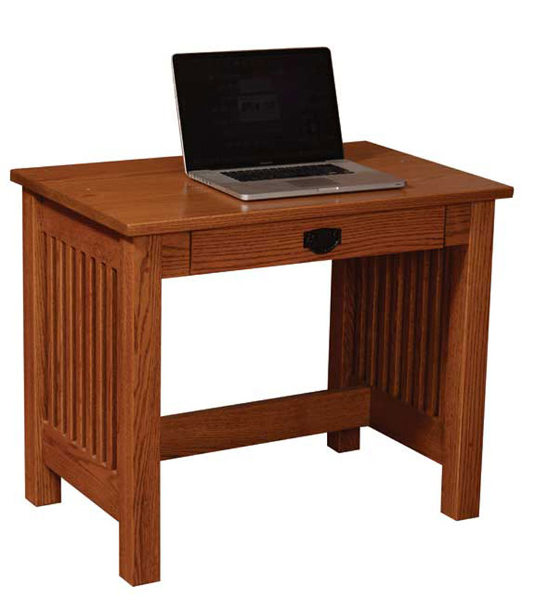 Mission Valley 36 inch Deluxe Writing Desk Ohio Hardwood