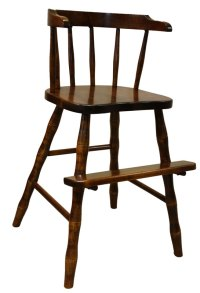 Wrap Around Youth Chair - Ohio Hardwood Furniture