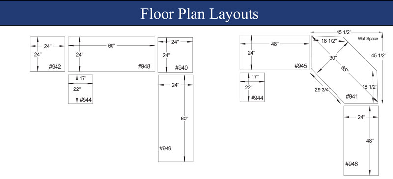 Pdf plans corner office desk plans download storage for Office desk layout planner