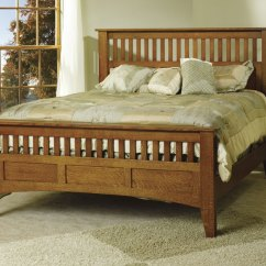 Wooden Slat Chairs Staples Office On Sale Mission Antique Bed - Ohio Hardword & Upholstered Furniture