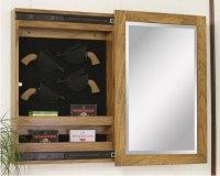 Wall Mount Sliding Mirror Gun Cabinets - Ohio Hardword ...