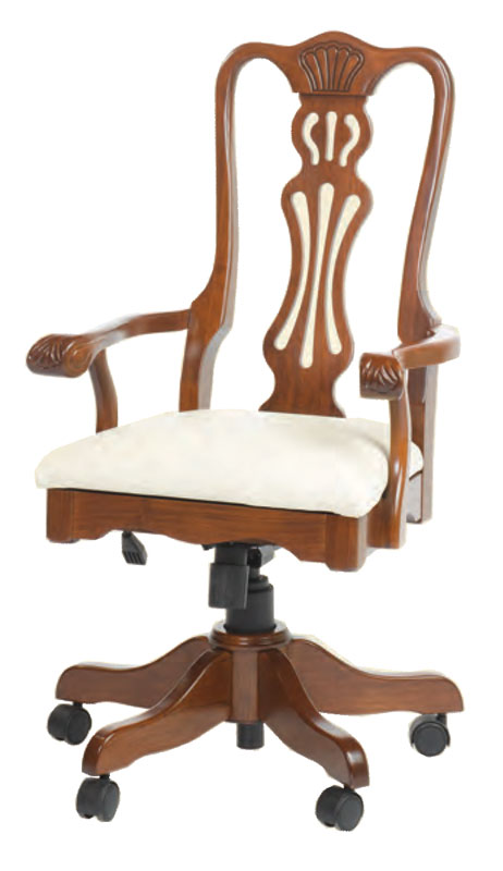 swivel chair regal design within reach desk ohio hardwood upholstered furniture with fabric seat and pneumatic lift tilt lock