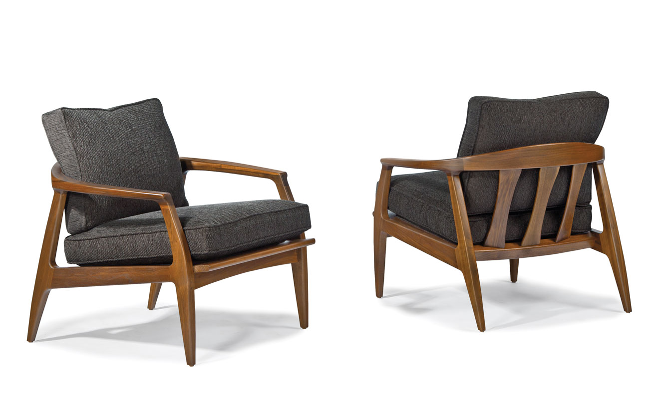 milo baughman chair queen anne wing thayer coggin 1251 103 cooper lounge by