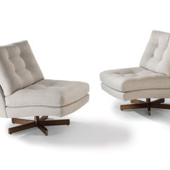 Swivel Lounge Chairs Easy Christmas Chair Covers Thayer Coggin 1306 113 B Steve Spinner By Milo Baughman