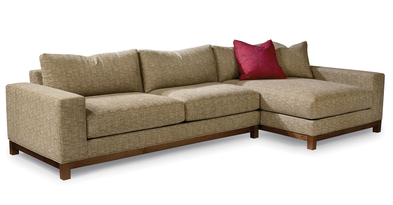 thayer coggin clip sofa large black fabric corner mr big brokeasshome