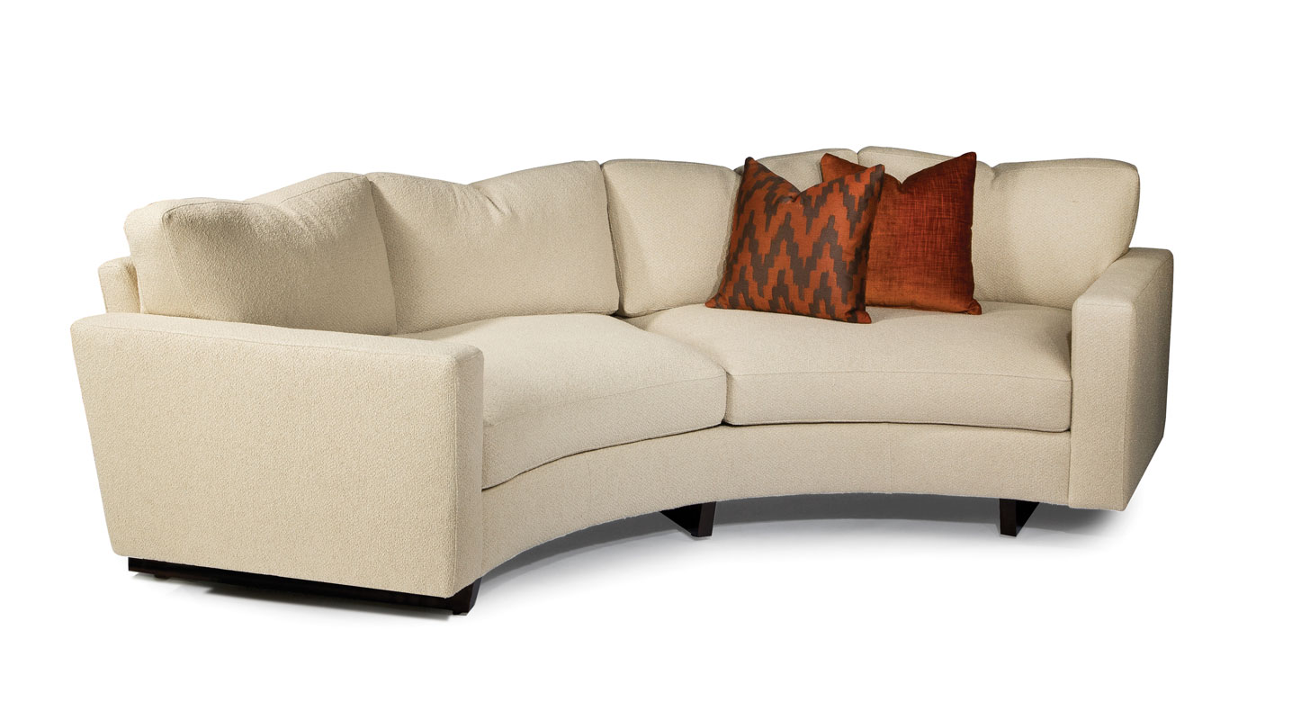 thayer coggin clip sofa roll arm nz 1228 308 curved sectional ohio