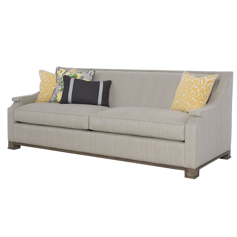 wesley hall sofas sofa leather recliner p1982 90 gather ohio hardwood furniture