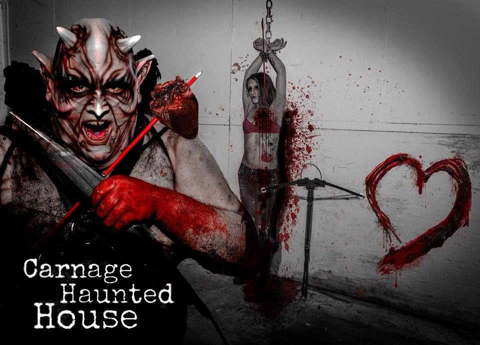Carnage Haunted House Columbus OH Photos  Videos