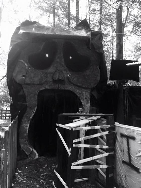 WJAA Haunted Woods Williamsburg OH Photos  Videos