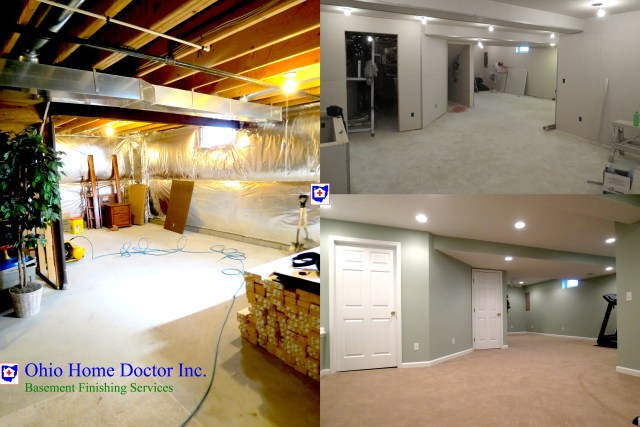 Basement Remodeling and Finishing in Dayton Ohio