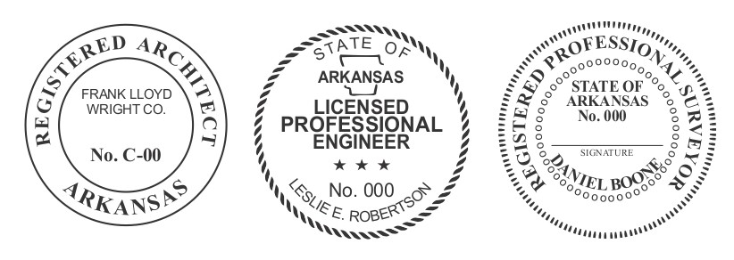 Arizona Engineer, Architect, Surveyor Embossing Seals and