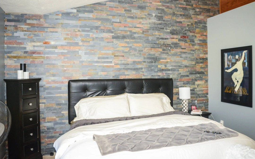 Unique accent walls