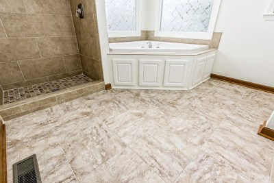 New Bathroom Tile by Ohio Property Brothers-7