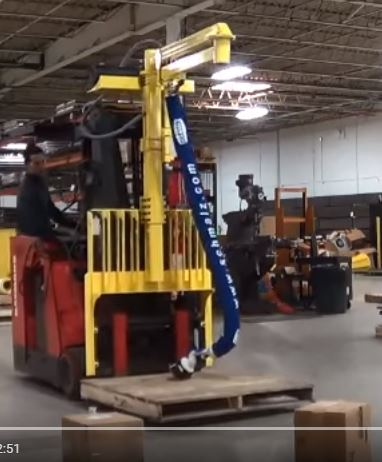 Fork Truck Mounted Order Picker Ohio Tool Systems