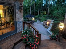 Outdoor Entertaining Fall - Cleveland Landscaping And