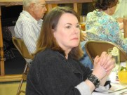 Jane Williams, Ohio Valley River Museum Curator at the Delta Queen Fundraiser Dinner