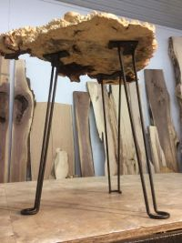 Hairpin Table Legs. Ohiowoodlands Metal Table Legs. End