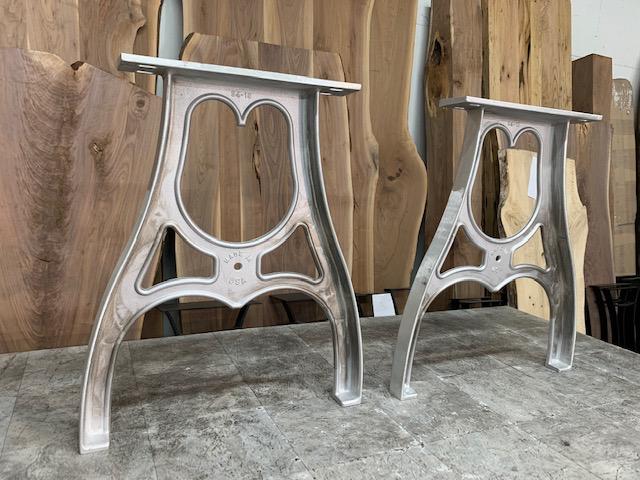 cast aluminum pub table legs