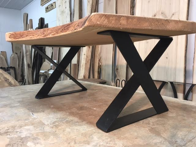 Ohiowoodlands Coffee Table Base. Steel Coffee Table Legs