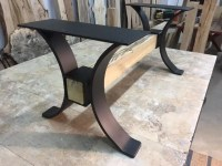 Steel Coffee Table Base. Ohiowoodlands Table Legs. Coffee ...