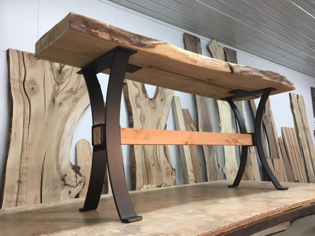 wooden sofa table legs sets on sale steel base ohiowoodlands metal console tap to expand