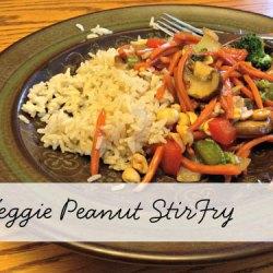 Day 7:: Peanut Stir-Fry