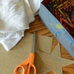 Craft Friday: Sandpaper Art