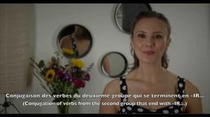 CONJUGAISON DES VERBES QUI SE TERMINENT EN -IR (Conjugation of -IR ending verbs)