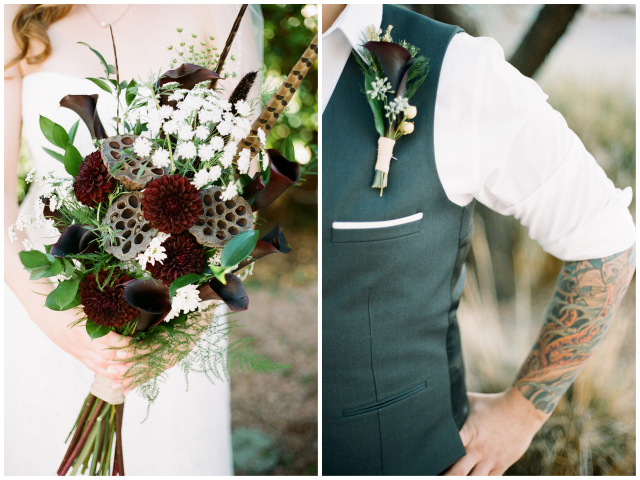 vintage Vegas wedding with gorgeous florals | Gaby J Photography