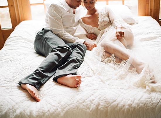 sex on your wedding night | photo by elizabeth messina