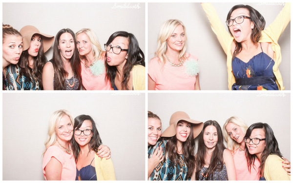 blogger fun in the smilebooth