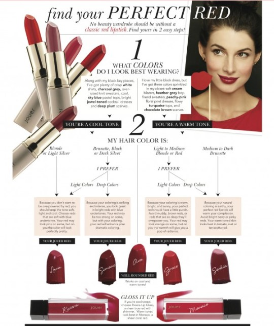 Find your perfect shade of red | A holiday giveaway from Jouer on Oh Lovely Day