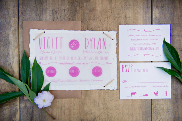 Sustainable & Eco-Friendly Spring Inspiration | Amy Chamgagne Events & Ashley Therese Photography / Paper goods by Roseville Designs