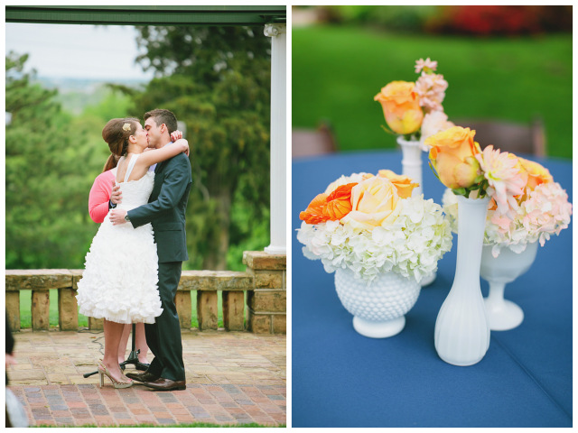 Sweet and Simple Garden Party Wedding | Amanda Watson Photography