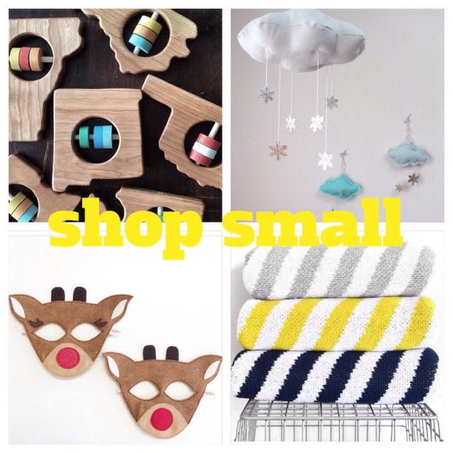 shop small on small business saturday | oh lovely day